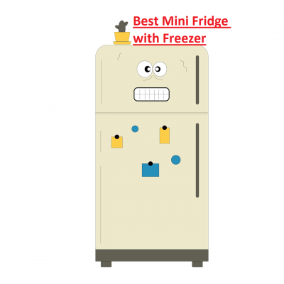 The Best Mini Fridge with Freezer for Dorm, College, Garage, Office, Home